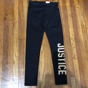 Justice full length leggings